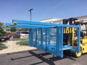 Model 1650 M -Engineered to fit any forklift.